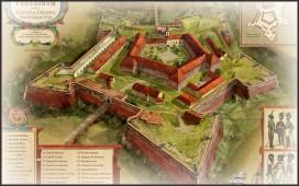 Cetatea-Oradea-Secolul-XVIII-